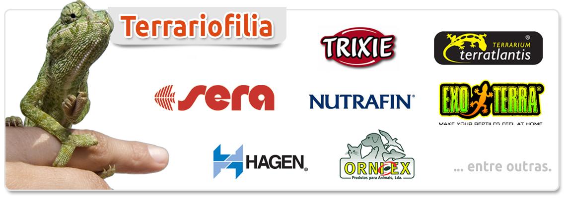 Marcas de Produtos para Terrariofilia